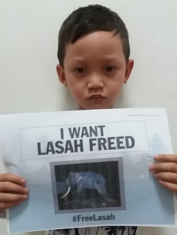 Poster campaign for Lasah