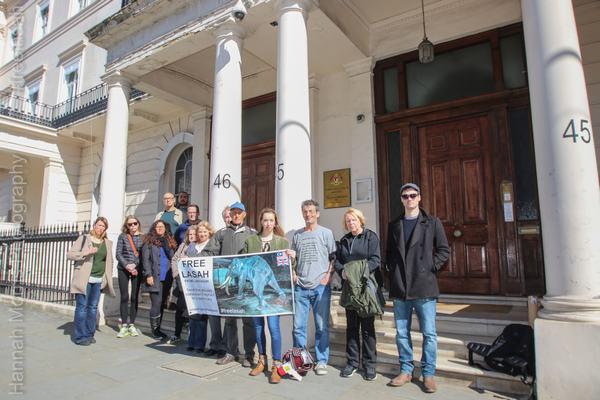 California and London demo for Lasah